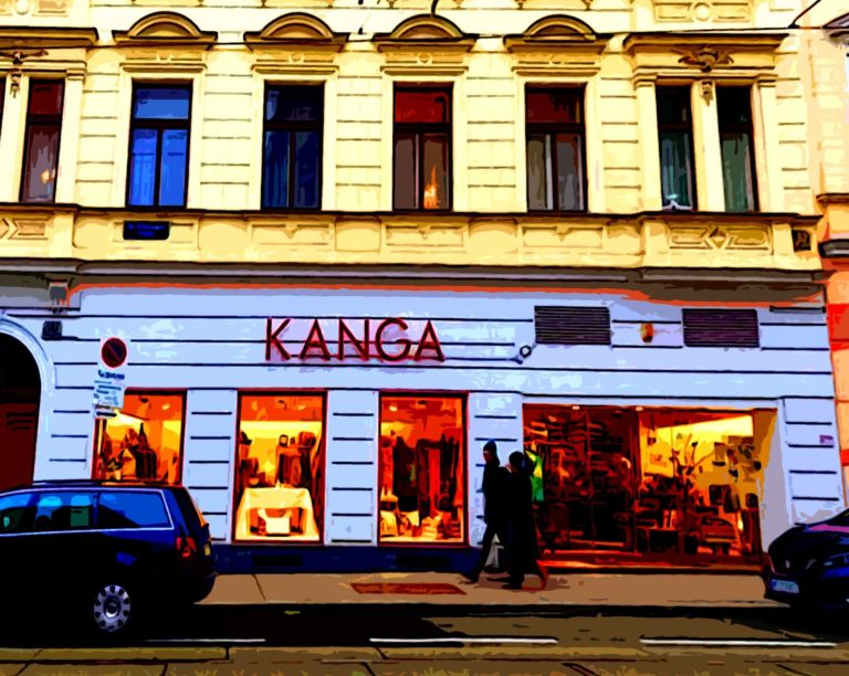 streetview of kanag shop in vienna