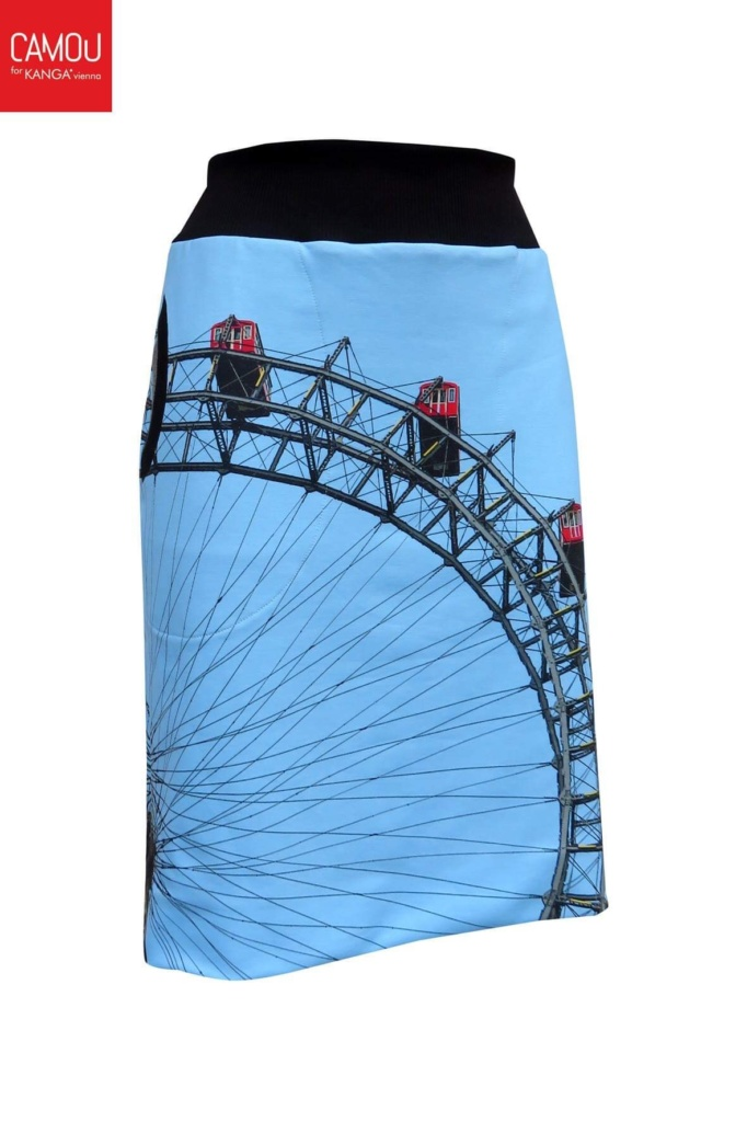 Riesenrad skirt by Camou4KANGA®