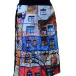 Hunderwasser skirt by Camou4KANGA®
