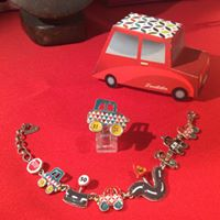 Jewellery from the car series by Taratata Bijoux
